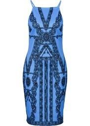 Платье в кружевном дизайне (светло-оливковый) Bonprix