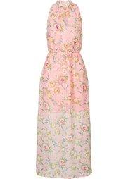 Макси-платье с цветочным принтом (бирюзовый с рисунком) Bonprix
