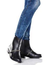 Ботинки (черный/серебристый) Bonprix