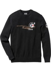 Пуловер Regular Fit (индиго) Bonprix