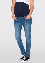 Мода для беременных: джинсы SKINNY (синий «потертый») Bonprix