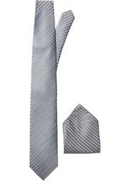 Галстук + платок (2 изд.) (лиловый) Bonprix