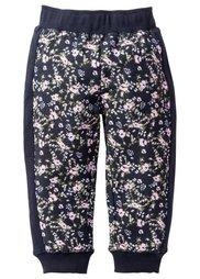 Трикотажные брюки с принтом, Размеры  80-134 (цвет белой шерсти с рисунком) Bonprix