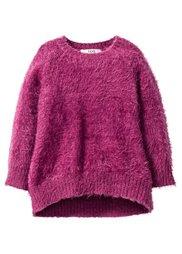 Пушистый пуловер, Размеры  80/86-128/134 (песочно-бежевый) Bonprix