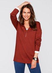 Легкий вязаный пуловер (карминно-красный) Bonprix