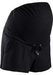 Мода для беременных: шорты на эластичном поясе (коралловый) Bonprix