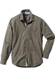 Рубашка (дымчато-серый) Bonprix