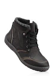 Ботинки на шнурках (бордовый/коричневый) Bonprix