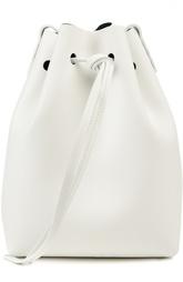 Кожаная торба на шнурке Mini Bucket Bag Mansur Gavriel