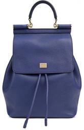 Кожаный рюкзак с клапаном Dolce & Gabbana