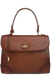 Кожаная сумка с одной ручкой Tiffin 33 Ralph Lauren