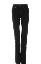 Прямые джинсы с потертостями и завышенной талией Acne Studios