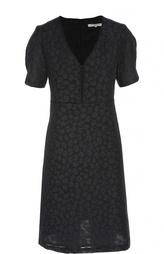 Приталенное платье с V-образным вырезом Gerard Darel
