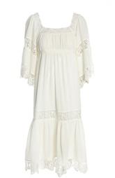 Платье с завышенной талией с кружевными вставками Denim&Supply by Ralph Lauren