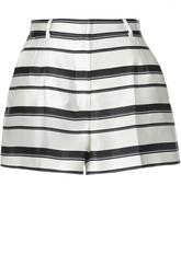 Шелковые мини-шорты в полоску Dolce & Gabbana