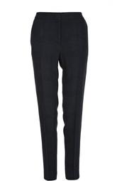 Прямые брюки со стрелками и принтом HUGO BOSS Black Label