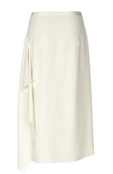 Асимметричная юбка-миди Helmut Lang