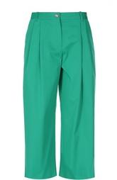 Укороченные широкие брюки с защипами Dolce & Gabbana