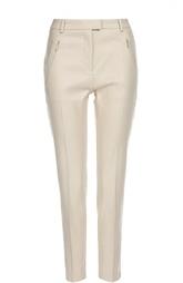 Укороченные брюки со стрелками и карманами на молниях HUGO BOSS Black Label