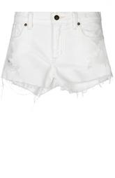 Джинсовые мини-шорты с необработанным краем Denim&Supply by Ralph Lauren