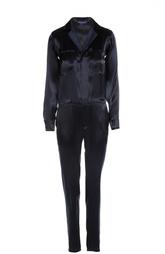 Приталенный комбинезон с V-образным вырезом на молнии Ralph Lauren