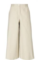 Укороченные широкие брюки с завышенной талией Dolce & Gabbana