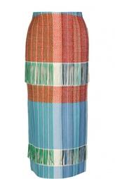 Вязаная юбка-миди с завышенной талией Ports 1961