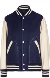 Куртка-бомбер с манжетами и принтом на спине Marc Jacobs