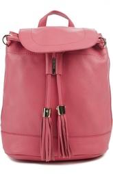 Кожаный рюкзак с кистями Vicki See by Chloé