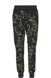 Хлопковые спортивные брюки с принтом Dolce & Gabbana