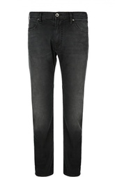 Прямые джинсы из эластичного хлопка Armani Jeans