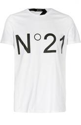 Футболка джерси с надписью No. 21