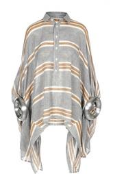 Блуза свободного кроя с декорированными рукавами Junya Watanabe