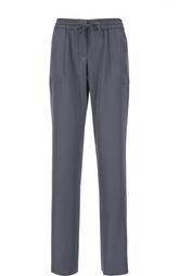 Прямые брюки с эластичным поясом Armani Collezioni