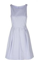 Приталенное платье без рукавов со складками Armani Collezioni