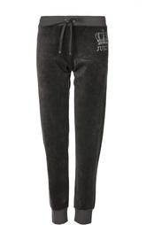 Велюровые брюки с манжетами и эластичным поясом Juicy Couture