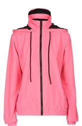 Куртка-ветровка с высоким воротником и капюшоном Juicy Couture