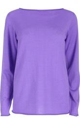 Кашемировый прямой пуловер с круглым вырезом Ralph Lauren