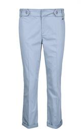 Прямые брюки со стрелками и отворотами Escada Sport