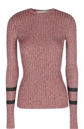 Облегающий пуловер с контрастными рукавами Mary Katrantzou