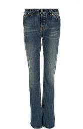 Расклешенные джинсы с потертостями Two Women In The World