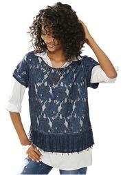 Комплект, 2 части: блузка + топ Linea Tesini
