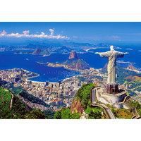 "Пазл ""Рио-де-Жанейро"", 1000 деталей, Castorland"