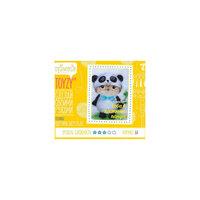 """Набор для картин шерстью """"Сова в костюме панды"""" Toyzy"""