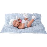 Кукла-младенец Бенни в голубом, 42 см, Munecas Antonio Juan