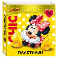 """Пластилин """"Минни Маус"""" 12 цветов Росмэн"""