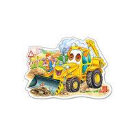 """Пазл """"Трактор"""", 15 деталей, Castorland"""