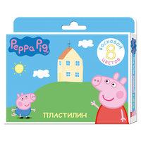 """Восковой пластилин """"Свинка Пеппа"""", 8 цветов Росмэн"""