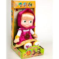 Мягкая игрушка Маша, 30 см, со звуком, Маша и Медведь, МУЛЬТИ-ПУЛЬТИ