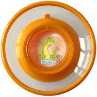 Тарелка на присоске, Nuby, оранжевый